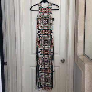 Mara Hoffman multicolor maxi dress size small